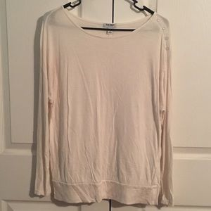 Old Navy long sleeve top with button detail